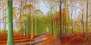 David Hockney landscape
