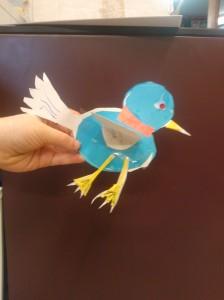 Blossom's bird