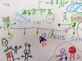 Alien to alien communication